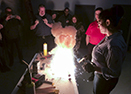 DAWCO employees complete training on thermite welding