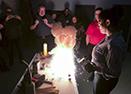 Les employés de DAWCO suivent une formation sur le procédé de la soudure aluminothermique