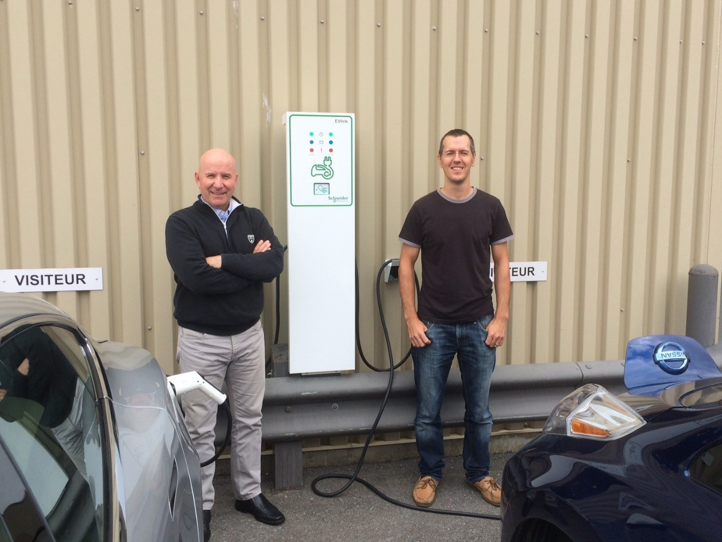 DCM Group head office in Montreal is now equipped with an electric vehicle charging station