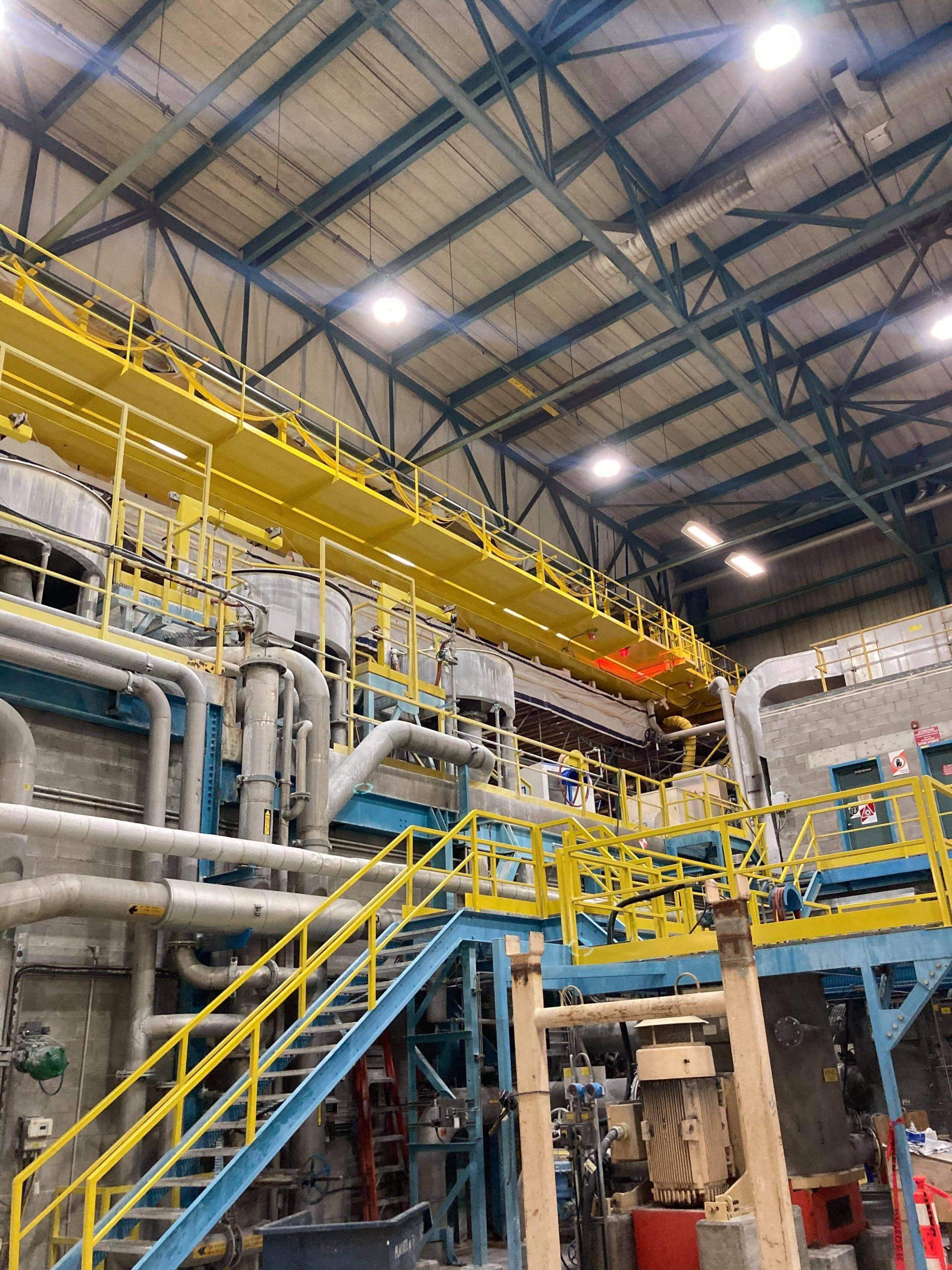 Fives Services: Refurbishment of an overhead crane