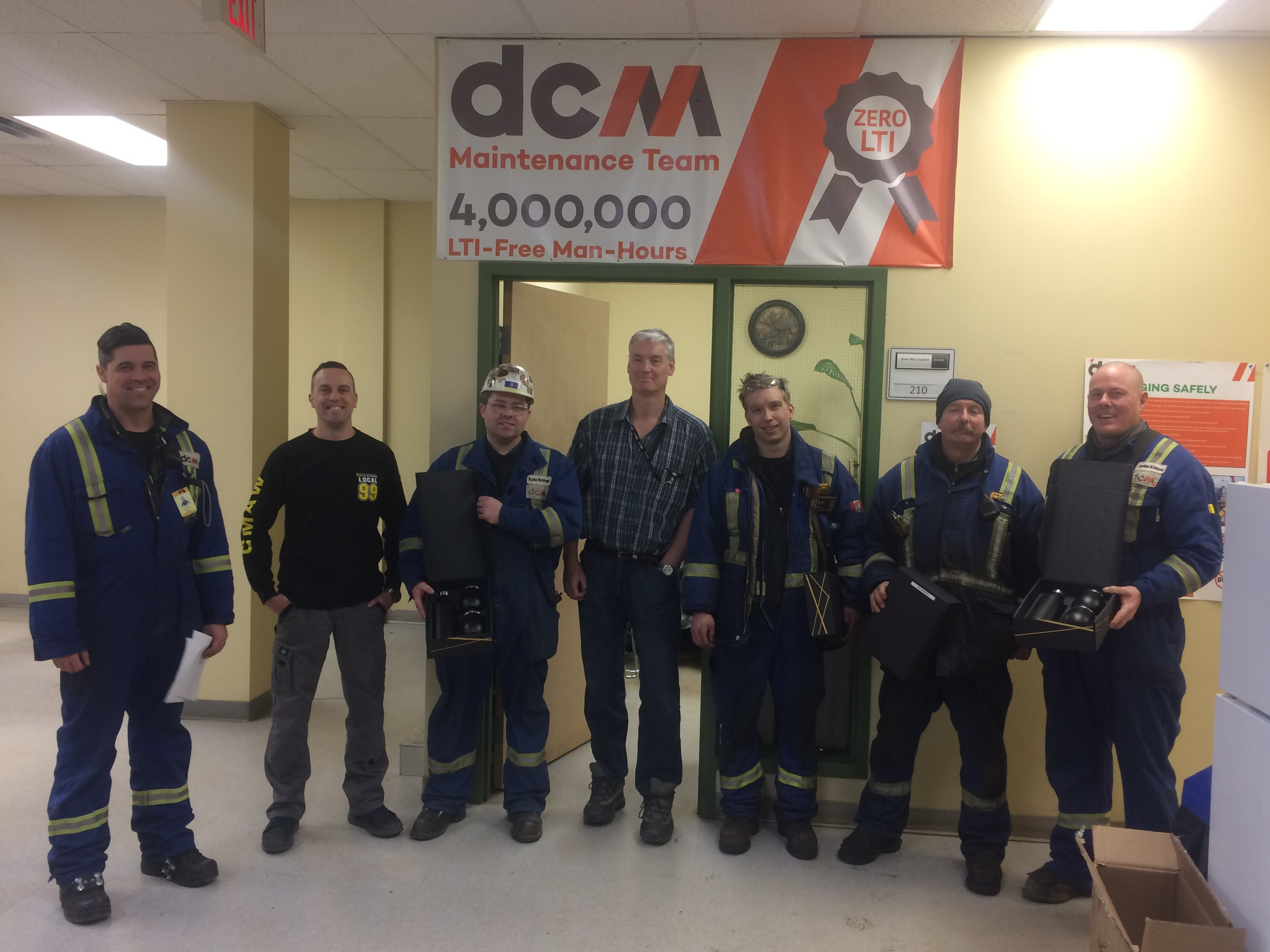 DCM proudly recognizes its top performing Trades-Foreman